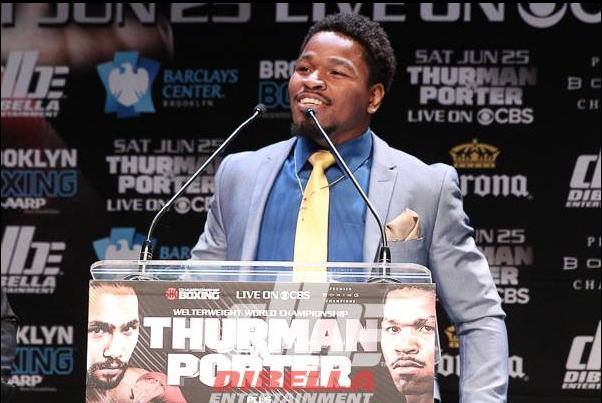 """He thinks he's going to knock me out,"" replied Shawn Porter. ""I say he's not … I'm going to do everything it takes to beat him and make it look easy."""