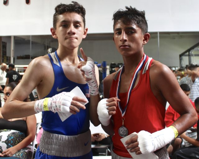 (l to r) Fernando Diaz and Anthony Perales.