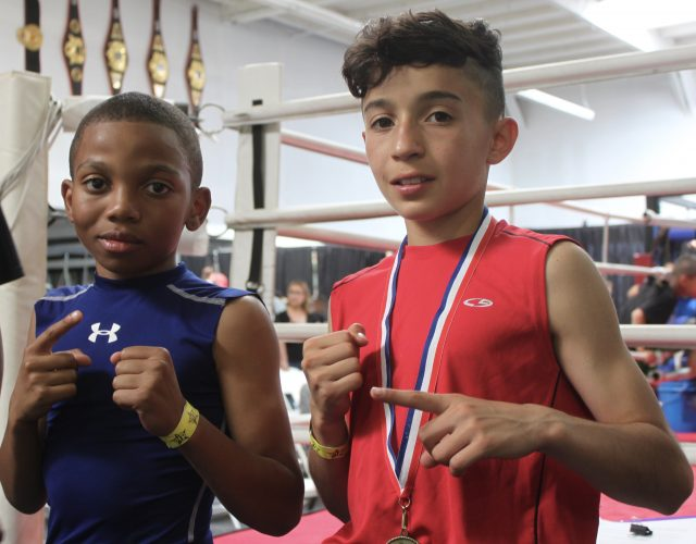 After his victory over Robert Meriwether III, great things are expected of Steven Navarro in the 70 pound, 1/12 year-old category.