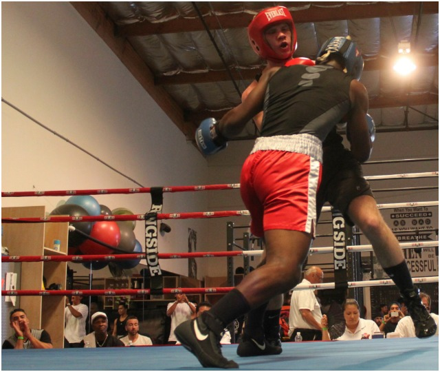 Bout #6 had the master of the uppercut, going up against of