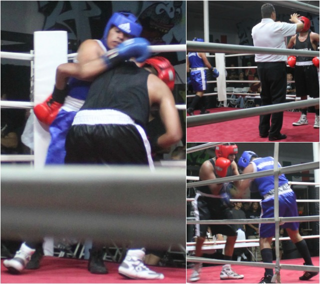 At times the Josh rivera versus Luis Tapia bout resembled a wrestling match.