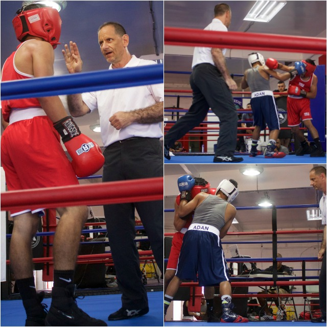 With tha amount of punches being thrown it was near impossible to keep track of which boxer was ahead on the punch count and which was behind.