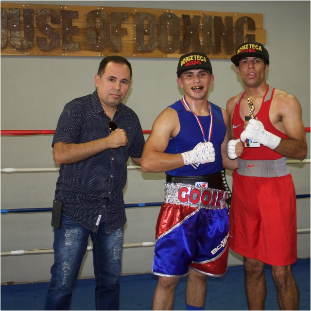 One of the show's supporters was Saul Rios, the CEO of the Borizteca Boxing Management Group.