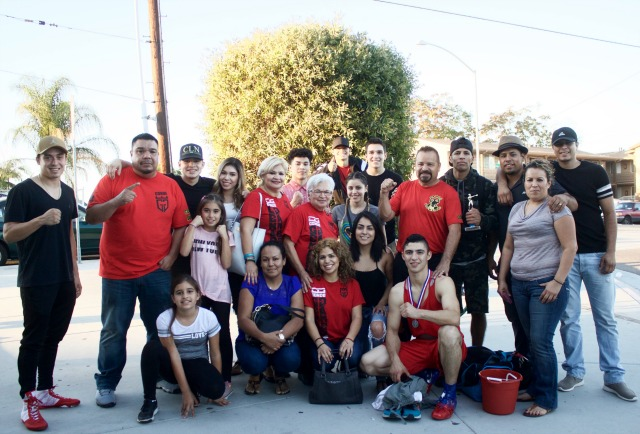 "It's called giving back to your community. Genaro ""El Conde"" Gamez along with his family and friends attended Saturday's show, Gamez's professional record has now reached 3-0 with 3 knockouts. Gamez turned Pro on April 15 of this year."
