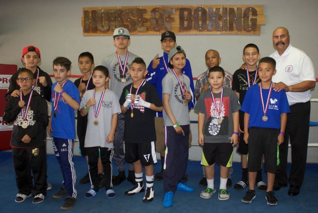 Before Saturday's show at the House of Boxing in Paradise Hills, San Diego, Calif.