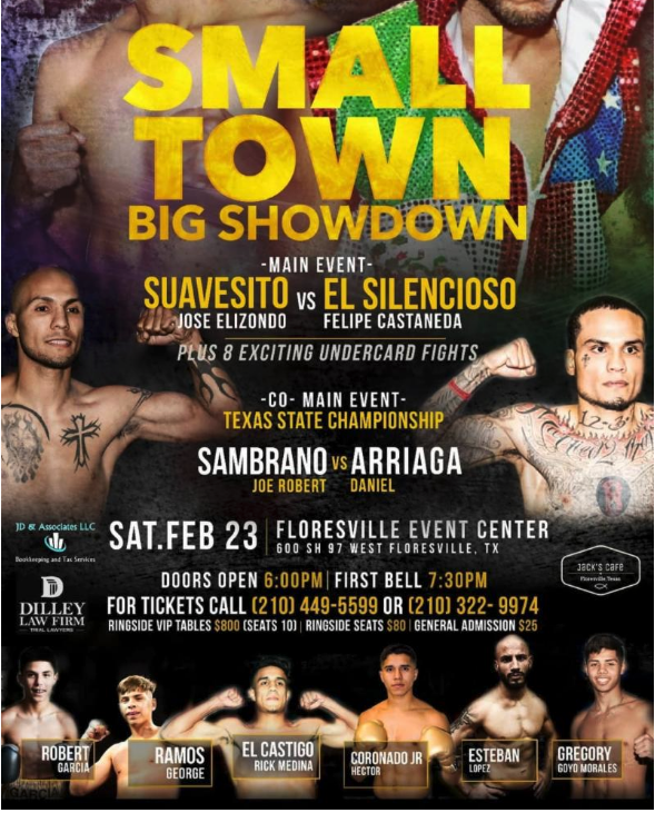 Pro Boxing Schedule