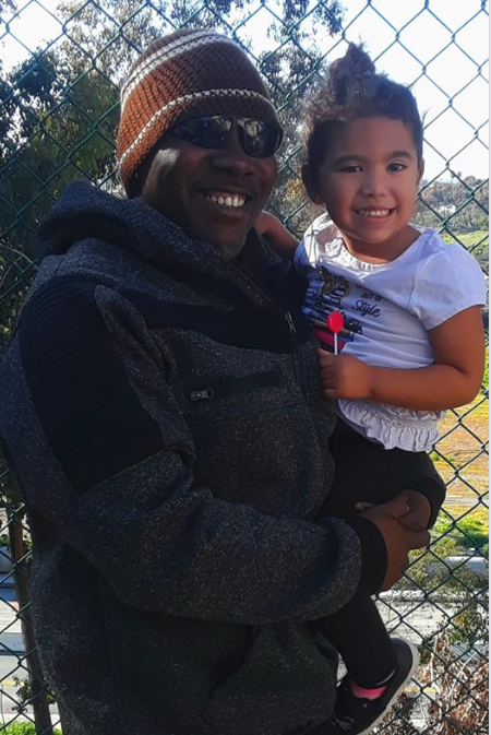 On Thursday, March 29, 2019 Well known boxing trainer/future gym owner Sugar Ray Holden was out spending quality with his grandaughter.